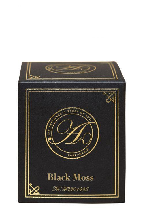 Black Moss Candle Box