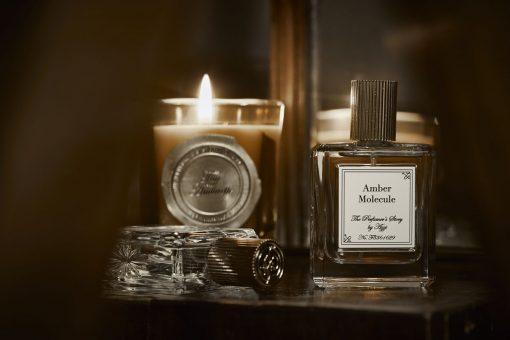 Amber Molecule Eau De Parfum with Fig Ambrette Candle