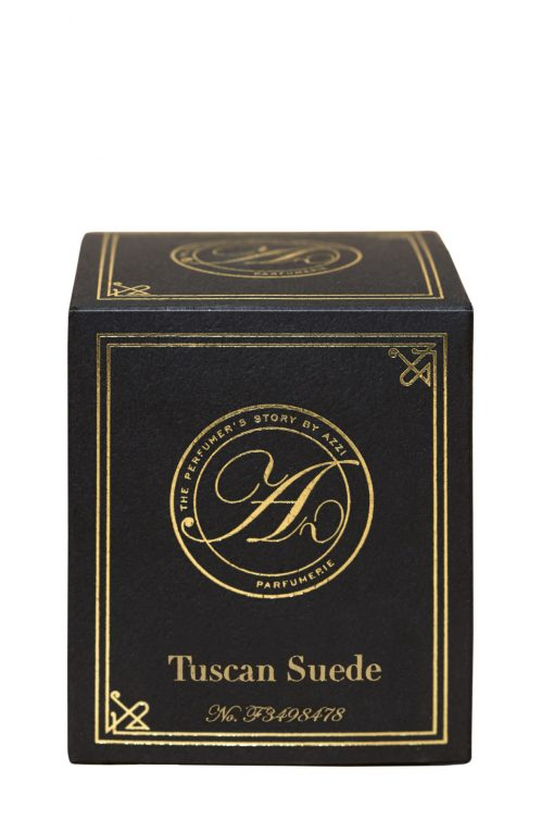 Tuscan Suede Candle Box