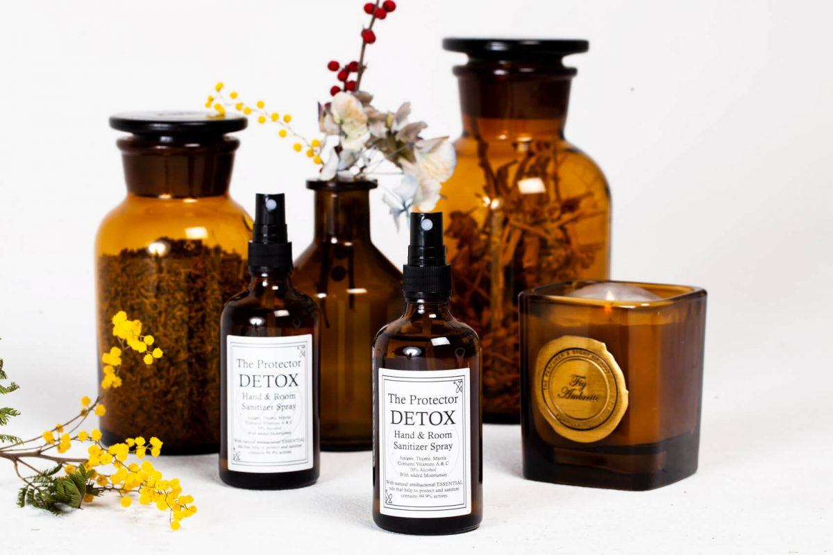 The Protector Detox - Hand & Room Sanitiser Spray